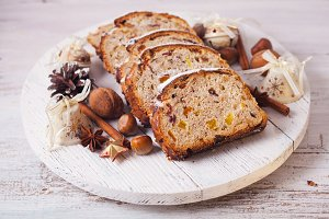 Christmas cake - Stollen