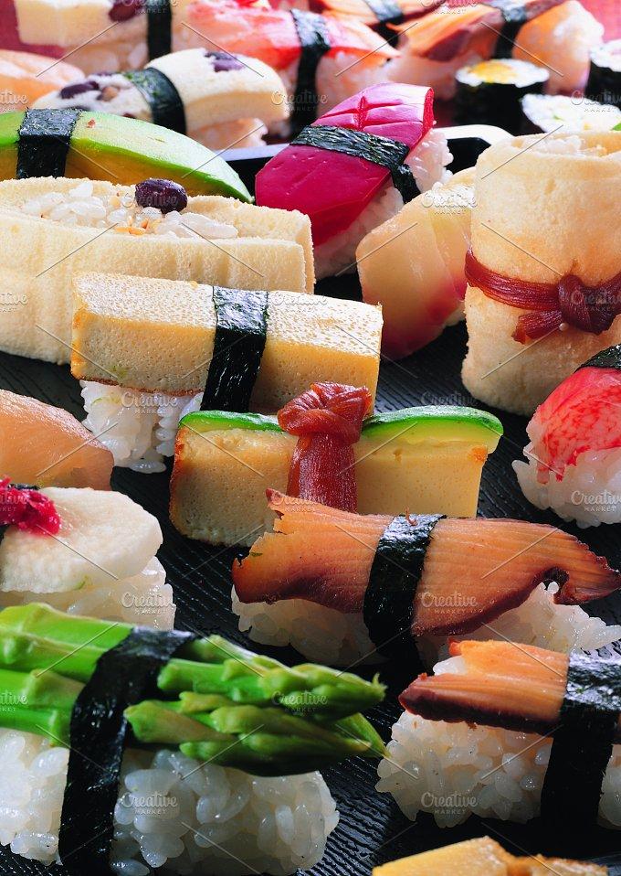 Japanese sushi assortment.jpg - Photos