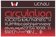 digital man font