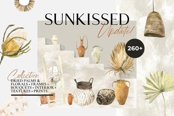 SUNKISSED dry boho tropics & prints