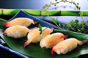 sushi rice with fish.JPG