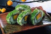 lemon and Japanese sushi.jpg