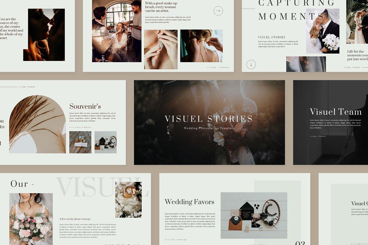 Visuel Wedding - Powerpoint
