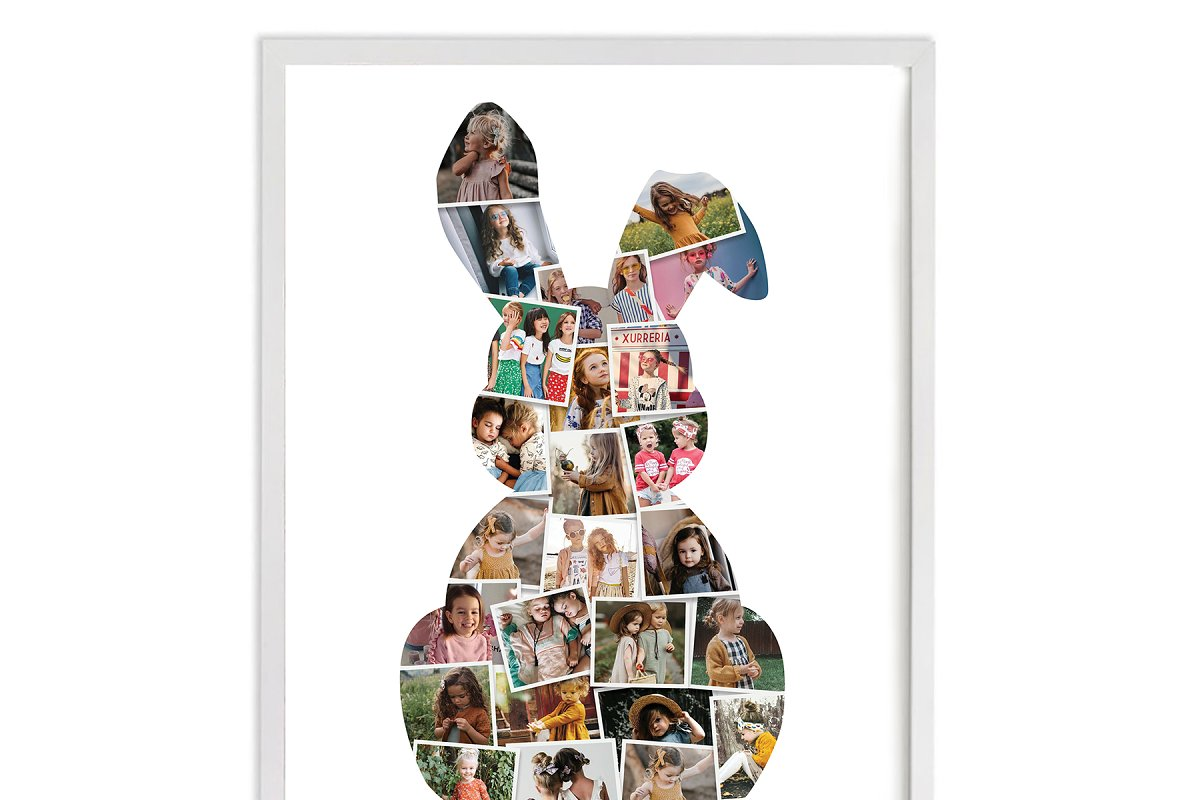Hare Rabbit Bunny photo collage