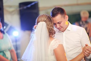 beautiful touching first dance