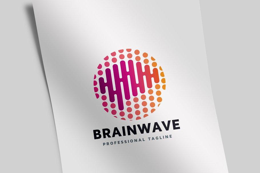 Brain Wave Logo