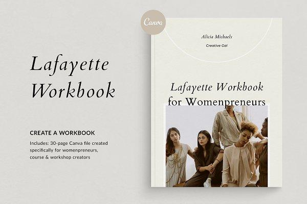 Course Creator Workbook | Lafayette