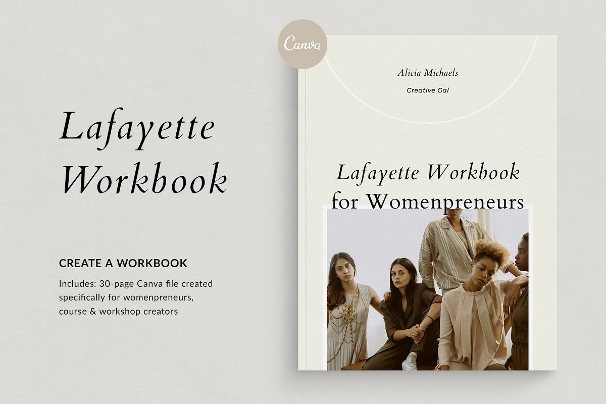 Course Creator Workbook | Lafayette in Magazine Templates - product preview 8