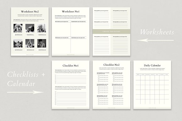 Course Creator Workbook | Lafayette in Magazine Templates - product preview 1