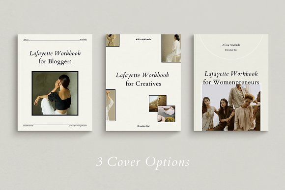 Course Creator Workbook | Lafayette in Magazine Templates - product preview 2