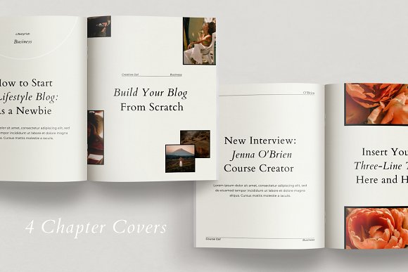 Course Creator Workbook | Lafayette in Magazine Templates - product preview 3
