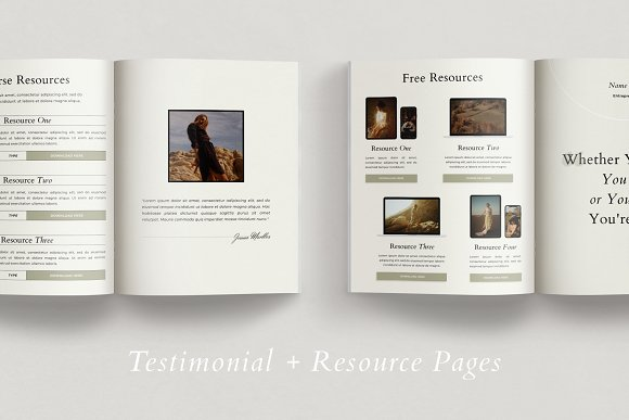 Course Creator Workbook | Lafayette in Magazine Templates - product preview 7