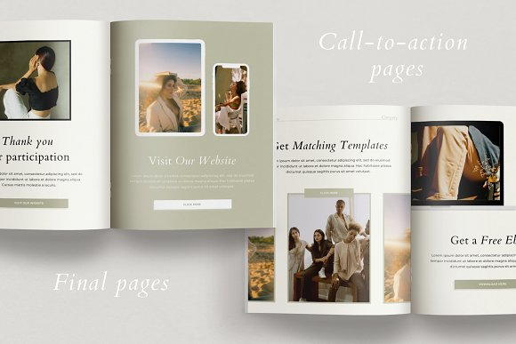 Course Creator Workbook | Lafayette in Magazine Templates - product preview 9