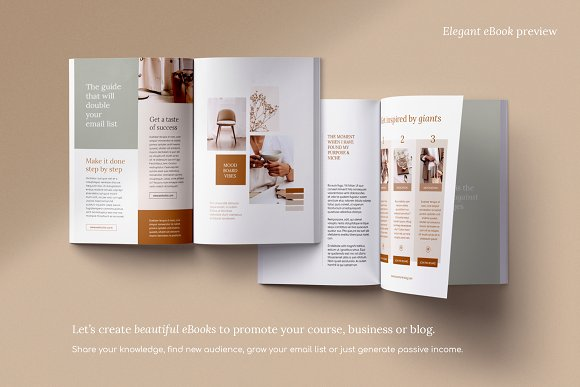 eBook duopack / CANVA, INDD in Magazine Templates - product preview 9