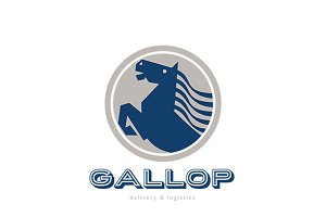 Gallop Delivery and Logistics Logo