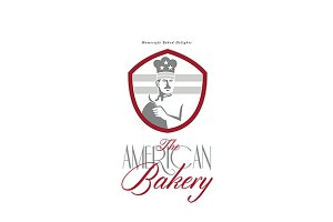 The American Chef Bakery Logo