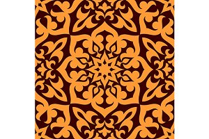 Bold geometric muslim seamless patte