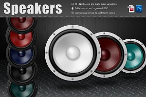 Speakers Isolated