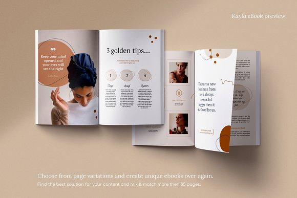 eBook duopack / CANVA, INDD in Magazine Templates - product preview 10