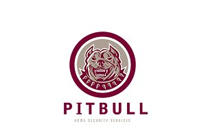 Pitbull Home Security Services Logo
