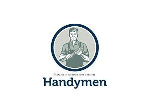 Handymen Plumbing Services Logo
