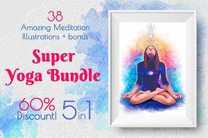 Super Yoga Bundle: 60% Discount