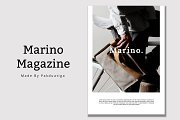Marino Magazine Template