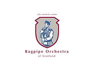 Bagpipe Orchestra of Scotland Logo