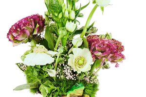 Flower bouquet arrangement centerpie