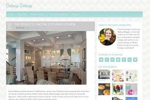 Coastal Cottage WordPress Theme