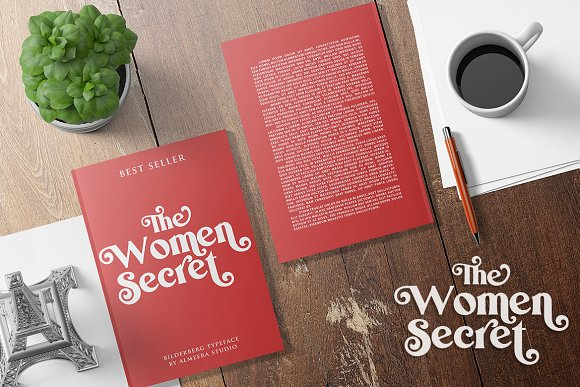 Bilderberg   Luxury Bold Serif in Serif Fonts - product preview 9