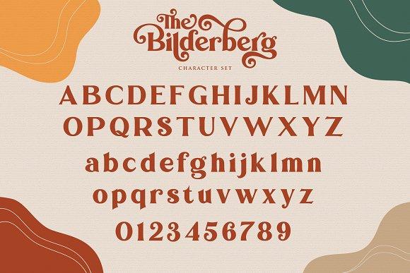 Bilderberg   Luxury Bold Serif in Serif Fonts - product preview 15