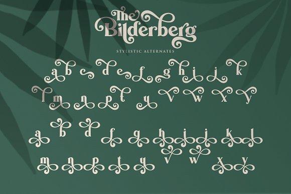 Bilderberg   Luxury Bold Serif in Serif Fonts - product preview 18