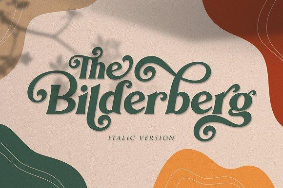 Bilderberg   Luxury Bold Serif in Serif Fonts - product preview 21