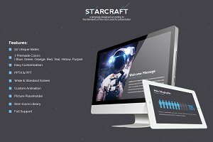 Starcraft - Powerpoint Template