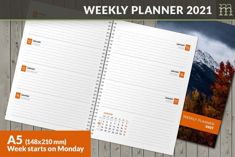 Weekly Planner 2021 (WP040-21-M)