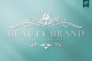 Beauty Brand Logo Template