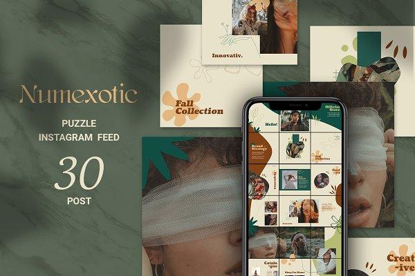Numexotic Puzzle Instagram Feed