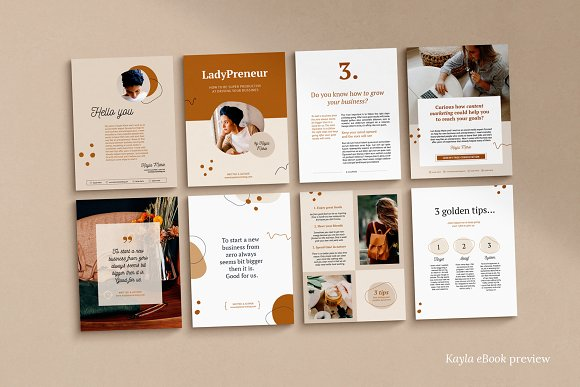 eBook duopack / CANVA, INDD in Magazine Templates - product preview 11