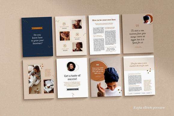 eBook duopack / CANVA, INDD in Magazine Templates - product preview 12