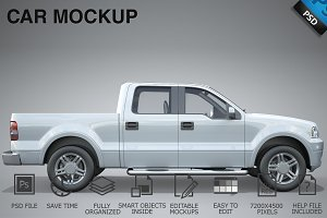 Car Mockup 03