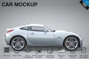 Car Mockup 04