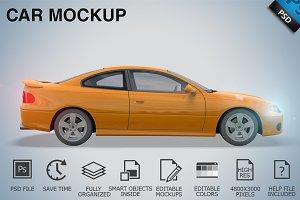 Car Mockup 02