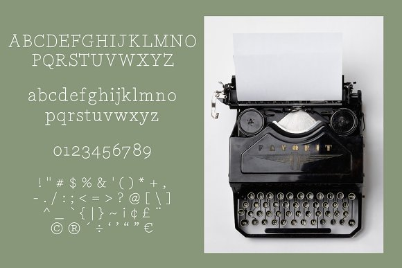 TWENTY-FOUR HOURS 'TIL DAWN in Serif Fonts - product preview 1