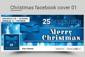Christmas facebook cover 01