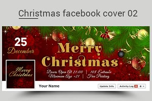 Christmas facebook cover 02