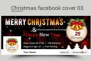 Christmas facebook cover 03