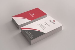 Creative Mart Business Card and logo
