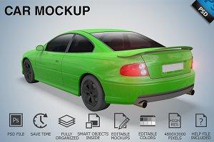 Car Mockup 08