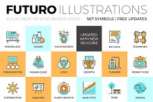 Futuro Illustrations Collection